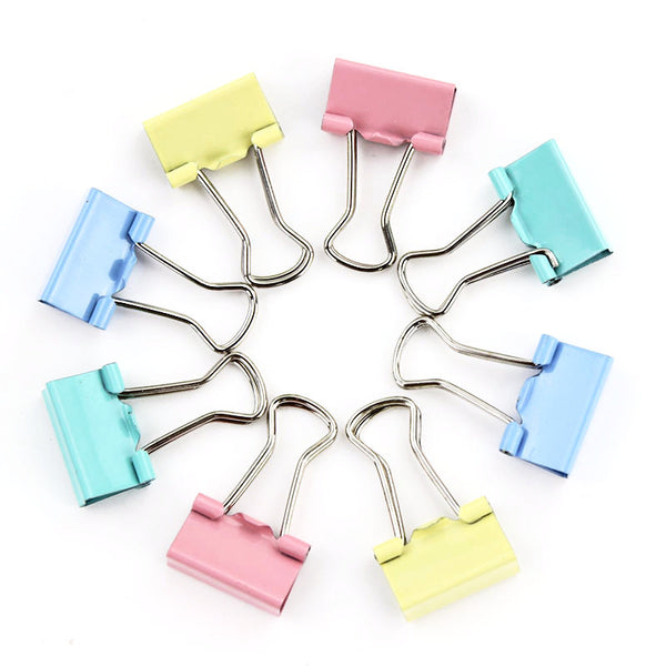 Mini Candy Color Binder Clips 15-pack 4