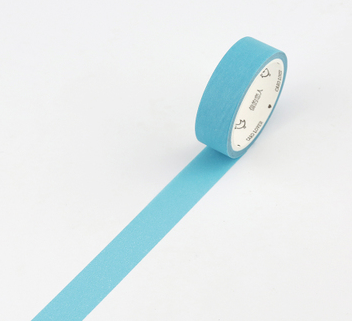 Simple Unicolor Washi Tape Baby Blue