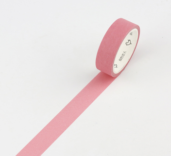 Simple Unicolor Washi Tape Cameo Pink