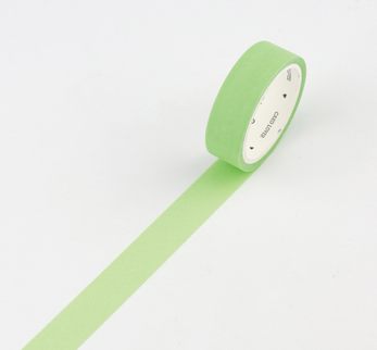Simple Unicolor Washi Tape Citrus Green