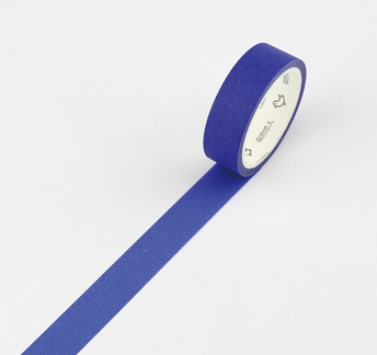 Simple Unicolor Washi Tape Dark Blue