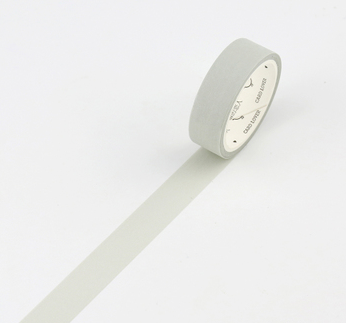 Simple Unicolor Washi Tape Grey