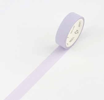 Simple Unicolor Washi Tape Lavender