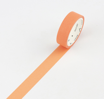 Simple Unicolor Washi Tape Tangerine