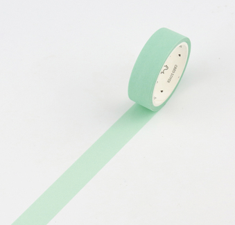 Simple Unicolor Washi Tape Light Mint Green