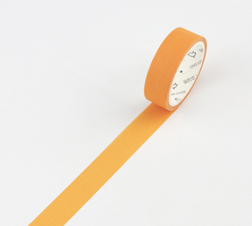 Simple Unicolor Washi Tape Orange