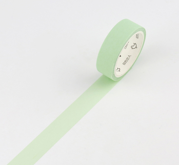 Simple Unicolor Washi Tape Pale Light Green