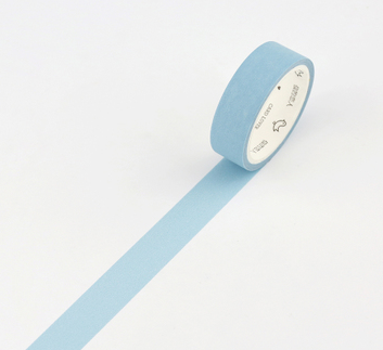 Simple Unicolor Washi Tape Pastel Blue