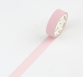 Simple Unicolor Washi Tape Piggy Pink