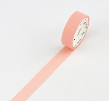 Simple Unicolor Washi Tape Shrimp Pink