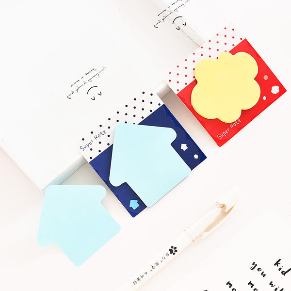 Smiley Adhesive Memo Pad