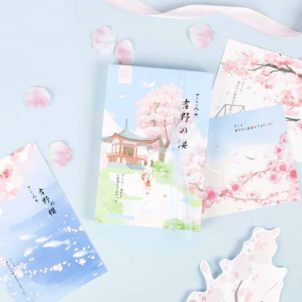 Spring in Japan Greeting Cards