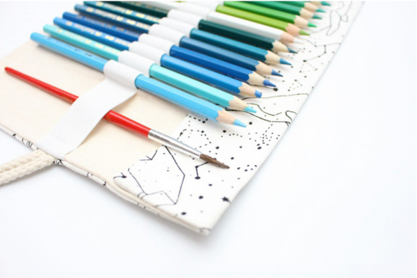 Star Constellations Roll Up Pencil Case 5