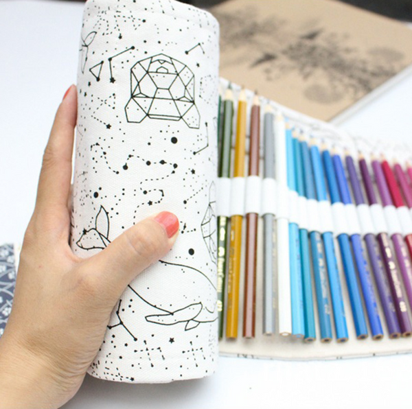 Star Constellations Roll Up Pencil Case 3