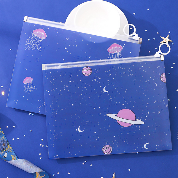 Starry Sky Zipper Pouch
