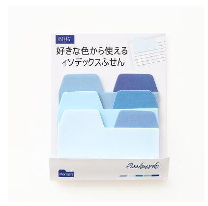 Sticky Tab Dividers Blue