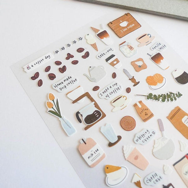 Suatelier Stickers - I Like Coffee