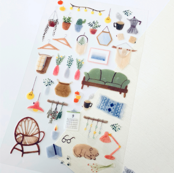Suatelier Stickers - Home Sweet Home