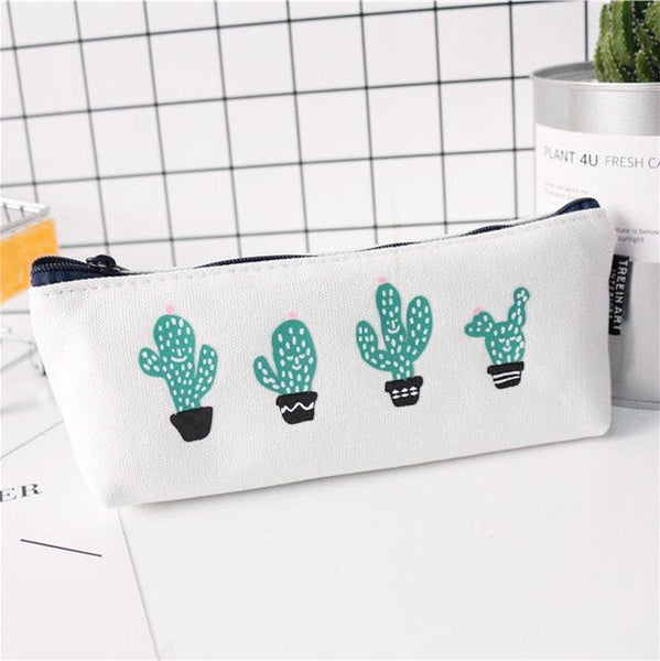 Succulent Plants Pencil Case