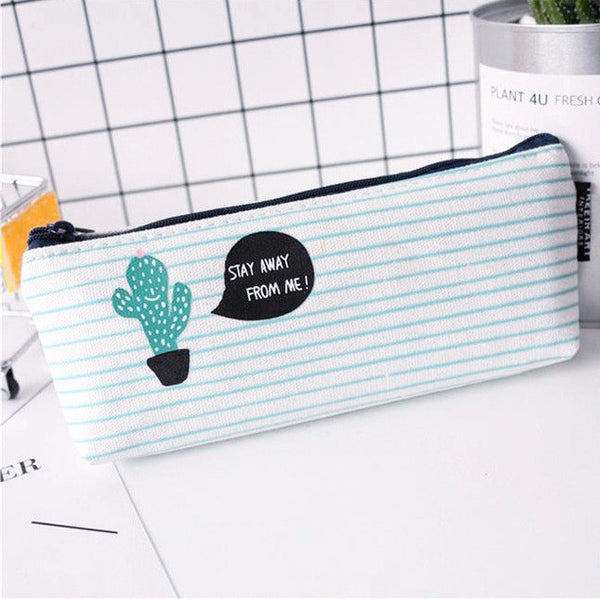 Succulent Plants Pencil Case 11