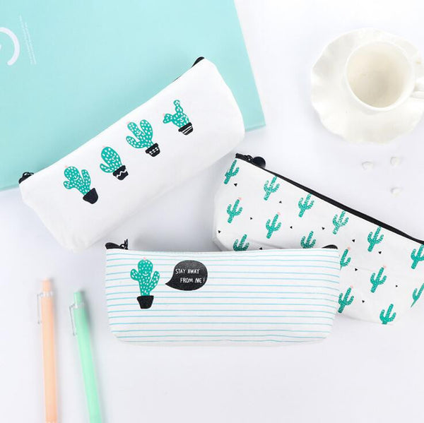 Succulent Plants Pencil Case 3