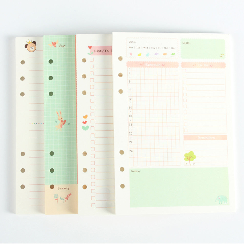 graphic relating to Cute Planner Refills known as Lovable Planner Filler Paper Sequence Kawaii Pen Retail outlet