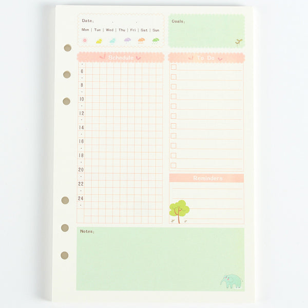 Cute Planner Filler Paper Series 5