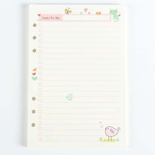Cute Planner Filler Paper Series 4