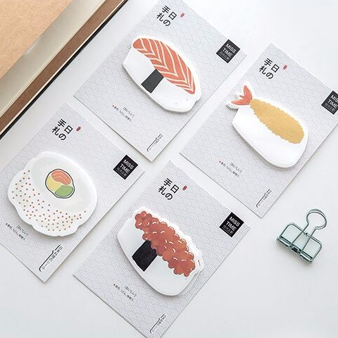 Sushi Post-it Memo Pads 1
