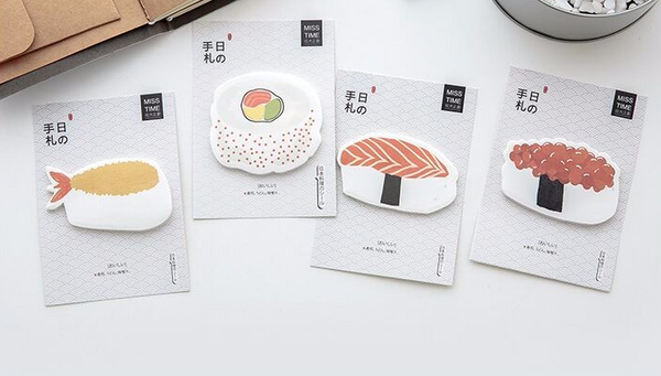 Sushi Post-it Memo Pads 2