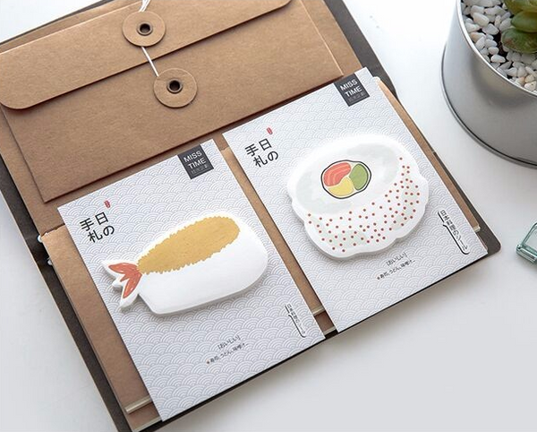 Sushi Post-it Memo Pads 4