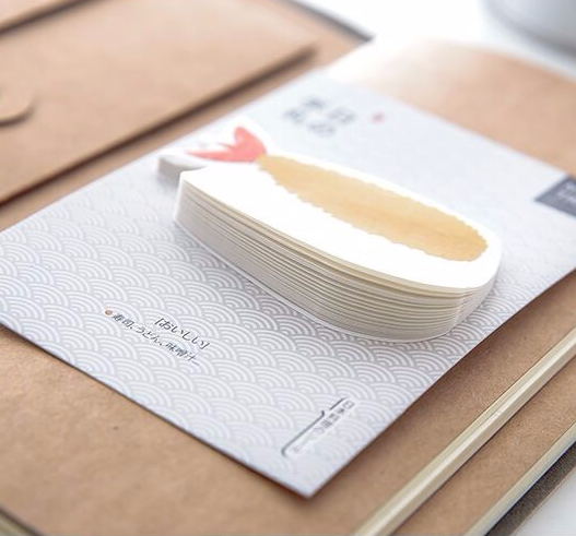 Sushi Post-it Memo Pads 3