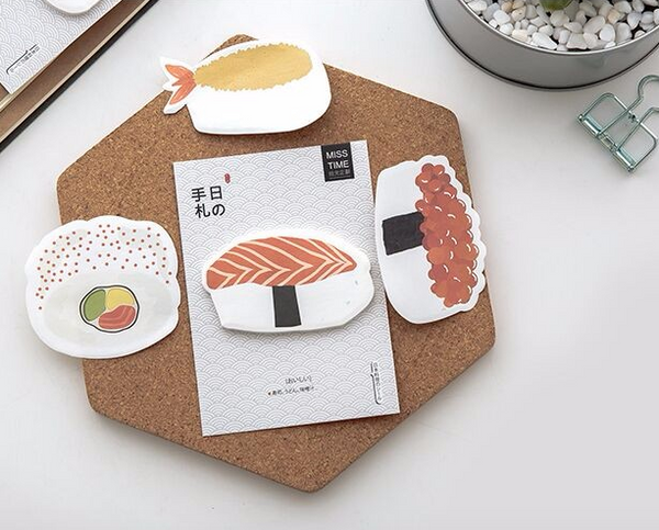 Sushi Post-it Memo Pads 6