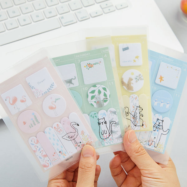 Sweet Animals Sticky Note 4-Pack 15