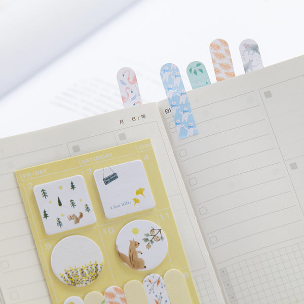 Sweet Animals Sticky Note 4-Pack 4
