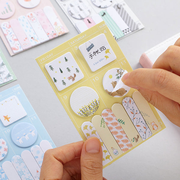 Sweet Animals Sticky Note 4-Pack 3