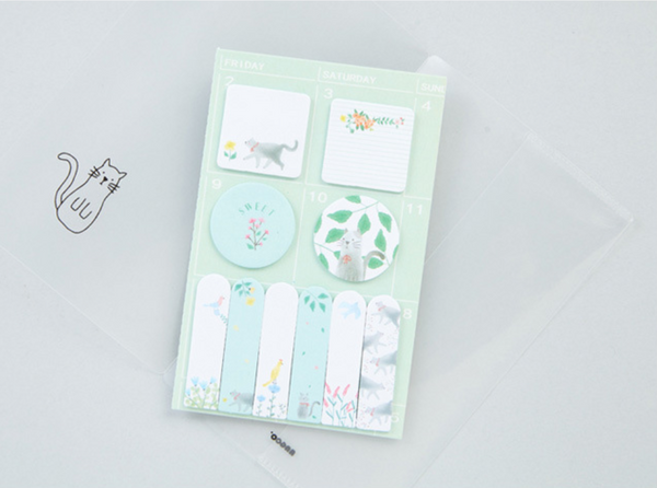 Sweet Animals Sticky Note 4-Pack 9