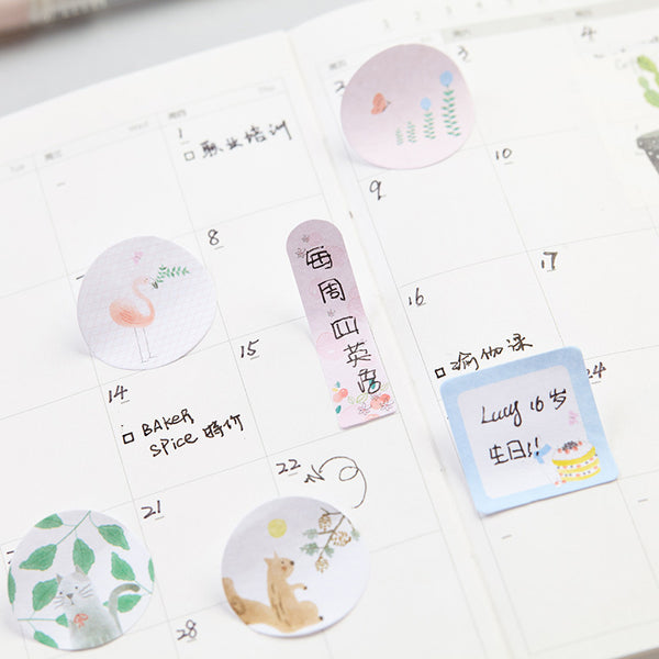 Sweet Animals Sticky Note 4-Pack 7