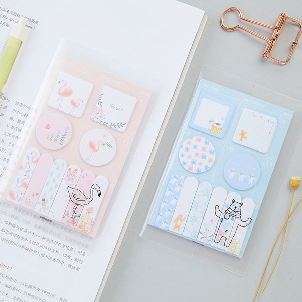 Sweet Animals Sticky Note 4-Pack 6