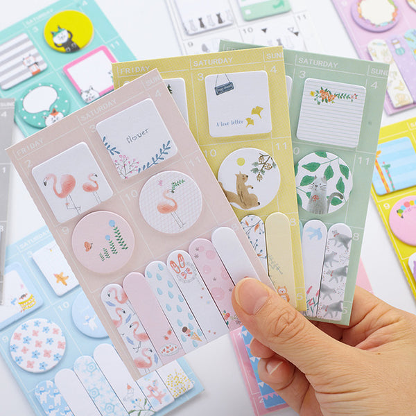 Sweet Animals Sticky Note 4-Pack 2