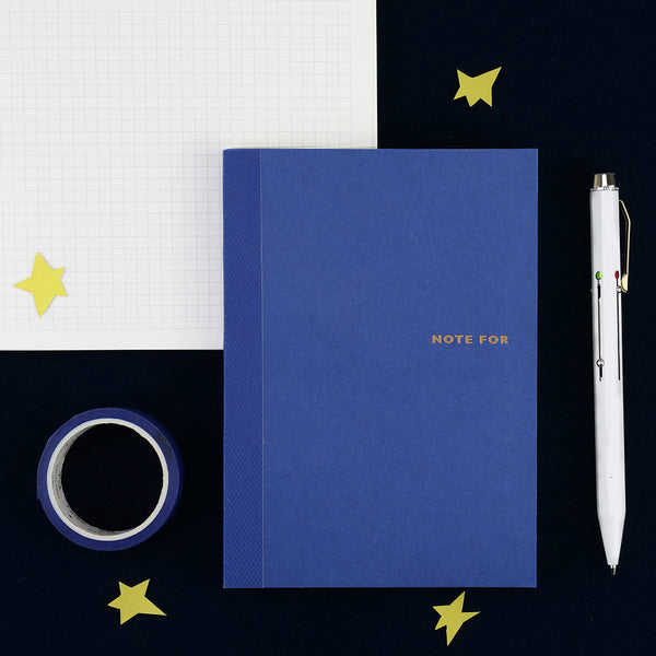 Sweet Life Unicolor Notebook Navy Blue