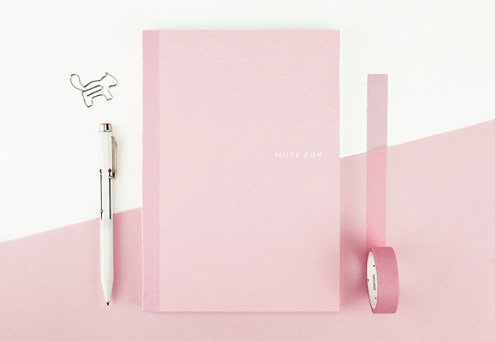 Sweet Life Unicolor Notebook Sakura Pink 2