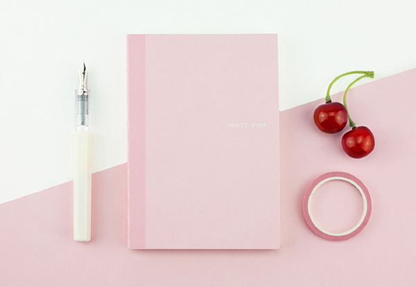 Sweet Life Unicolor Notebook Sakura Pink