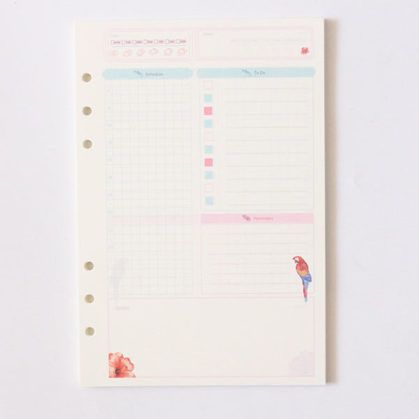Take Me to the Tropics Planner Refills 19