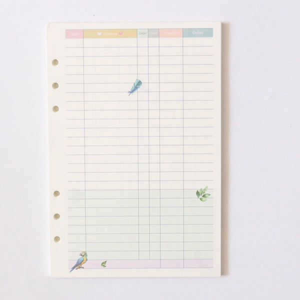 Take Me to the Tropics Planner Refills 23