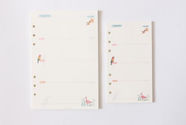 Take Me to the Tropics Planner Refills 10