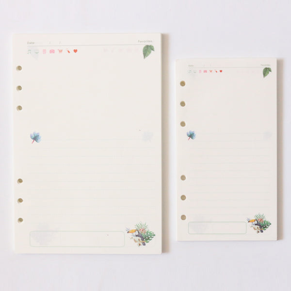 Take Me to the Tropics Planner Refills 4