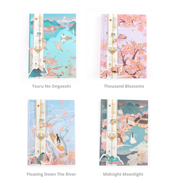 Tales of Japan Hardcover Notebook