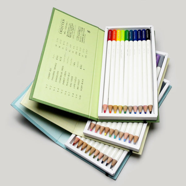 Tombow Irojiten Colored Pencil Dictionary - 30 Color Set 2