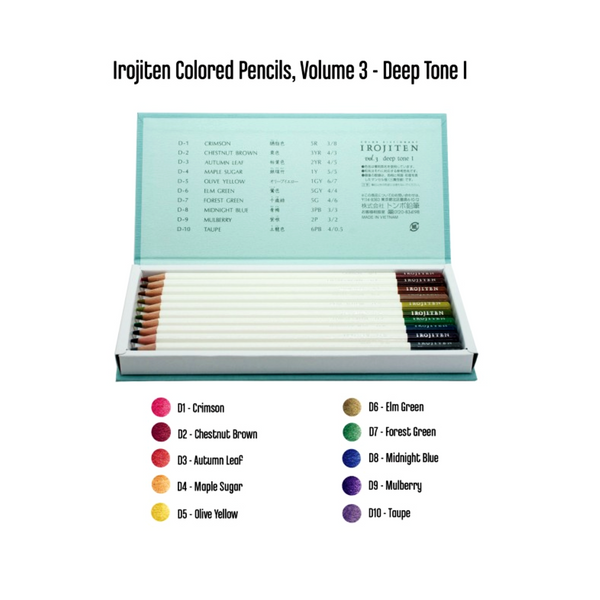 Tombow Irojiten Colored Pencil Dictionary - art supplies 4